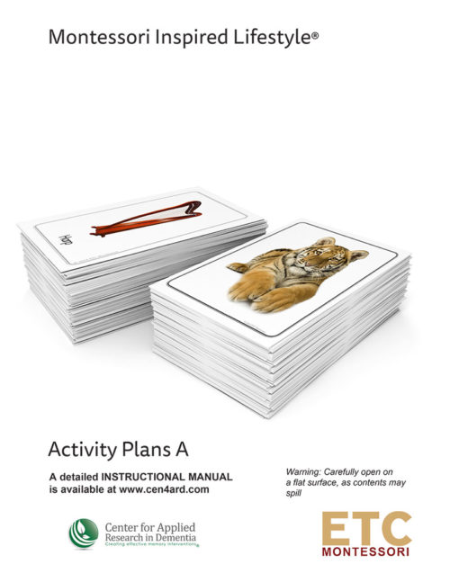 Montessori Inspired Lifestyle – Activity Starter Kit A