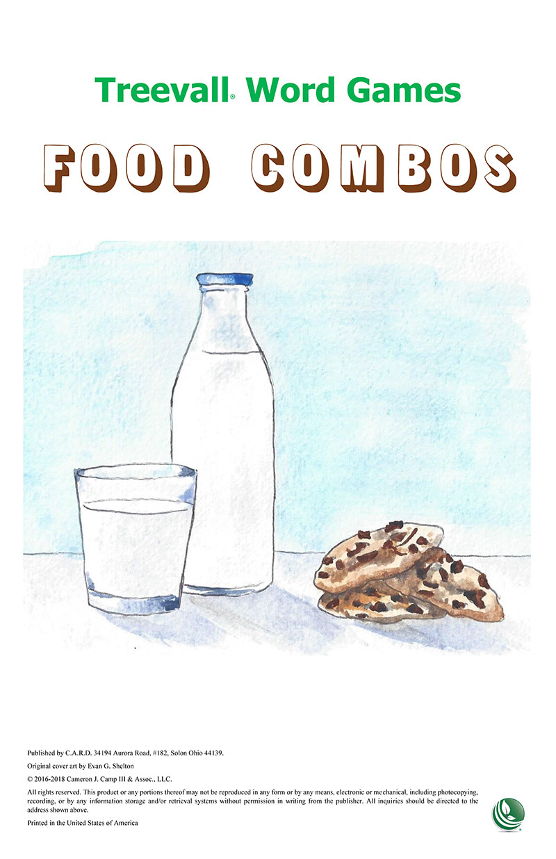 Treevall™ Word Game – Food Combos