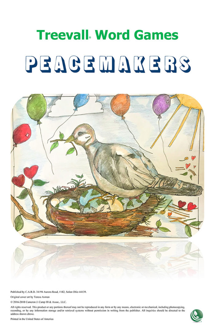 Treevall™ Word Game – Peacemakers