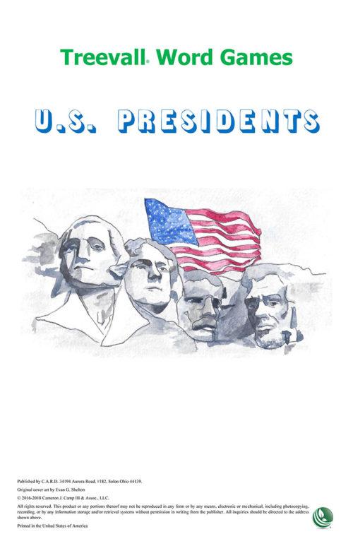 Treevall™ Word Game – U.S. Presidents