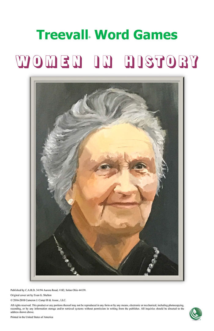 Treevall™ Word Game – Women in History
